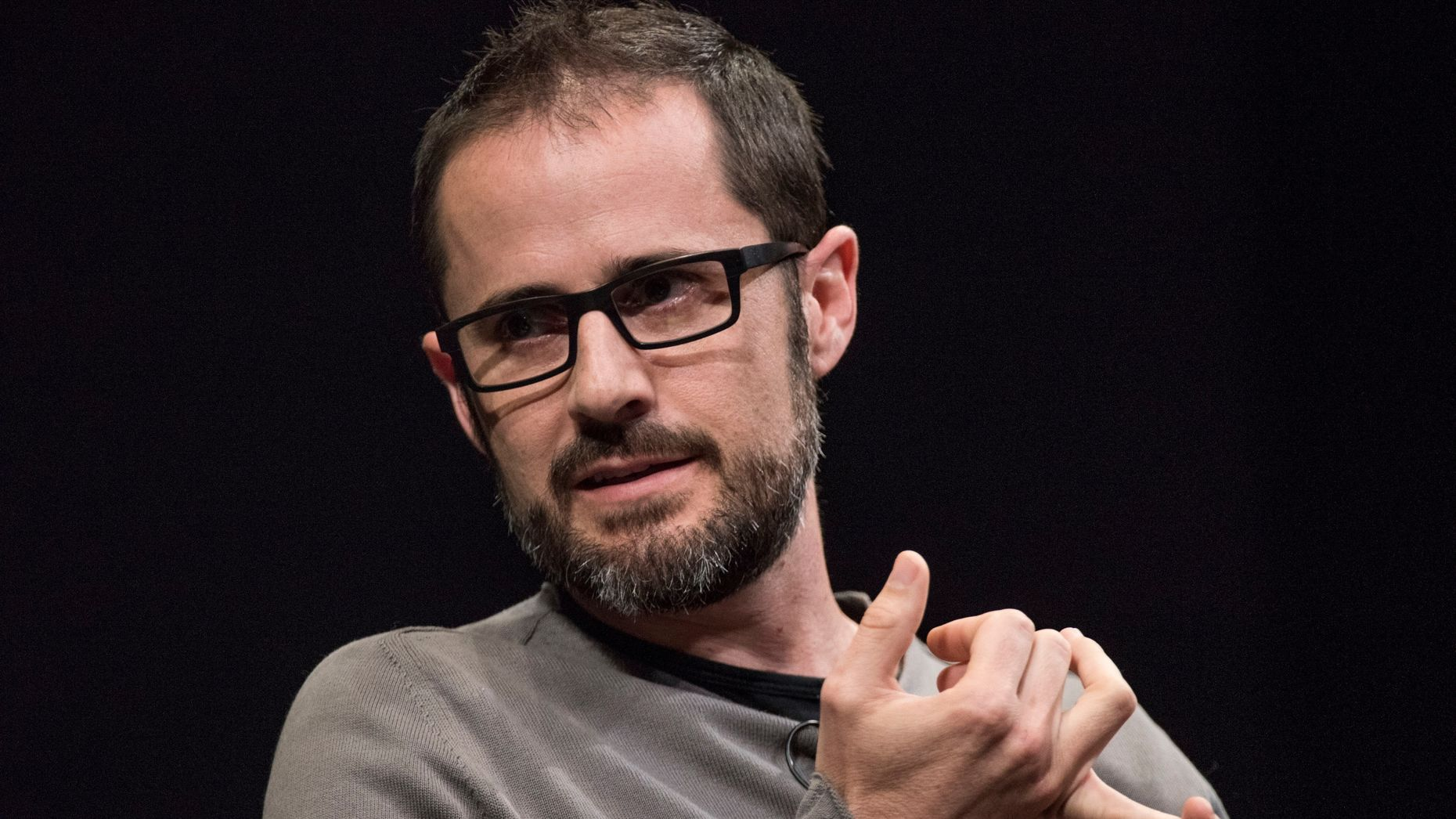 Medium CEO Ev Williams. Photo by Bloomberg.