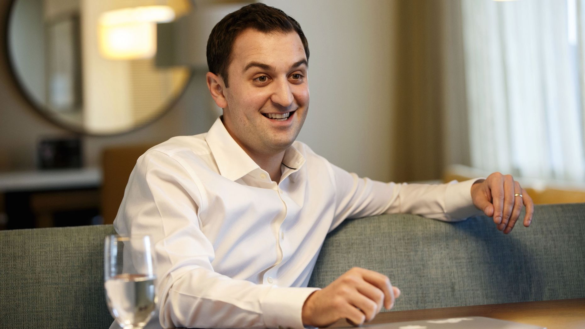 Lyft co-founder and president John Zimmer. Photo by Bloomberg.