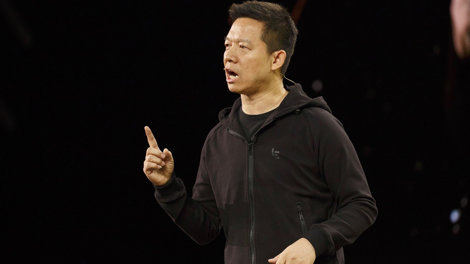 LeEco co-founder Jia Yueting. Photo by Bloomberg.