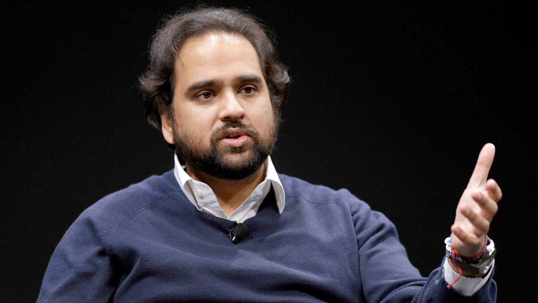 Jawbone CEO Hosain Rahman. Photo by Bloomberg.