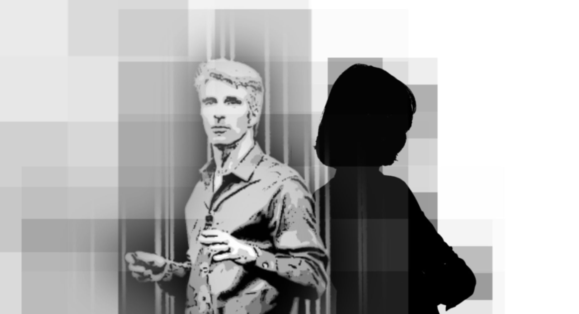 Apple software boss Craig Federighi and his field marshall. Illustration by Matthew Vascellaro.