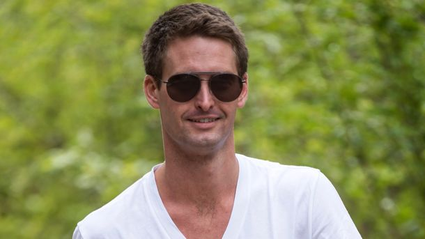 Snap's Spiegel Poised to Gain Sole Control After IPO
