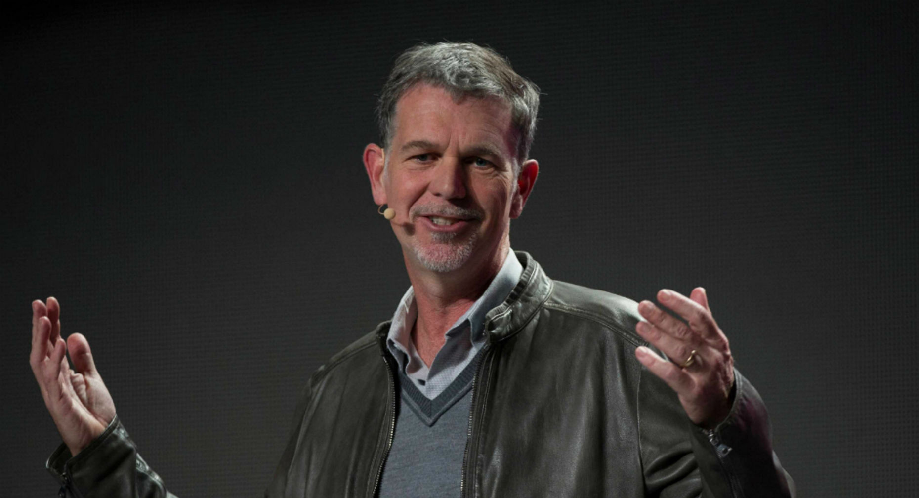 Reed Hastings. Photo by Bloomberg.