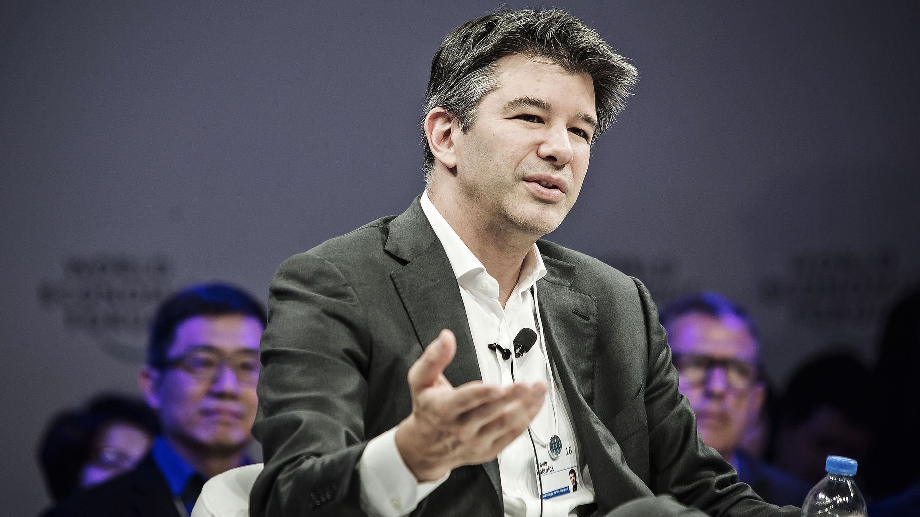 Uber CEO Travis Kalanick. Photo by Bloomberg