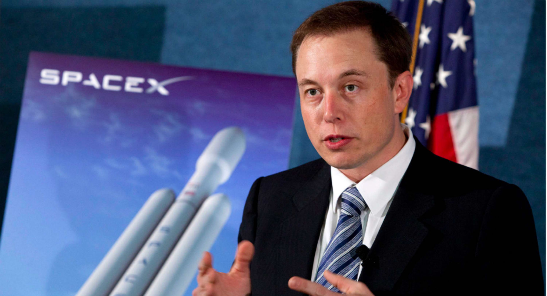 Elon Musk, founder of SpaceX. Photo by Bloomberg.