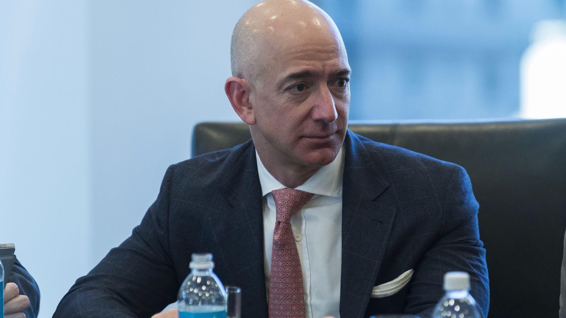 Amazon CEO Jeff Bezos. Photo by Bloomberg.