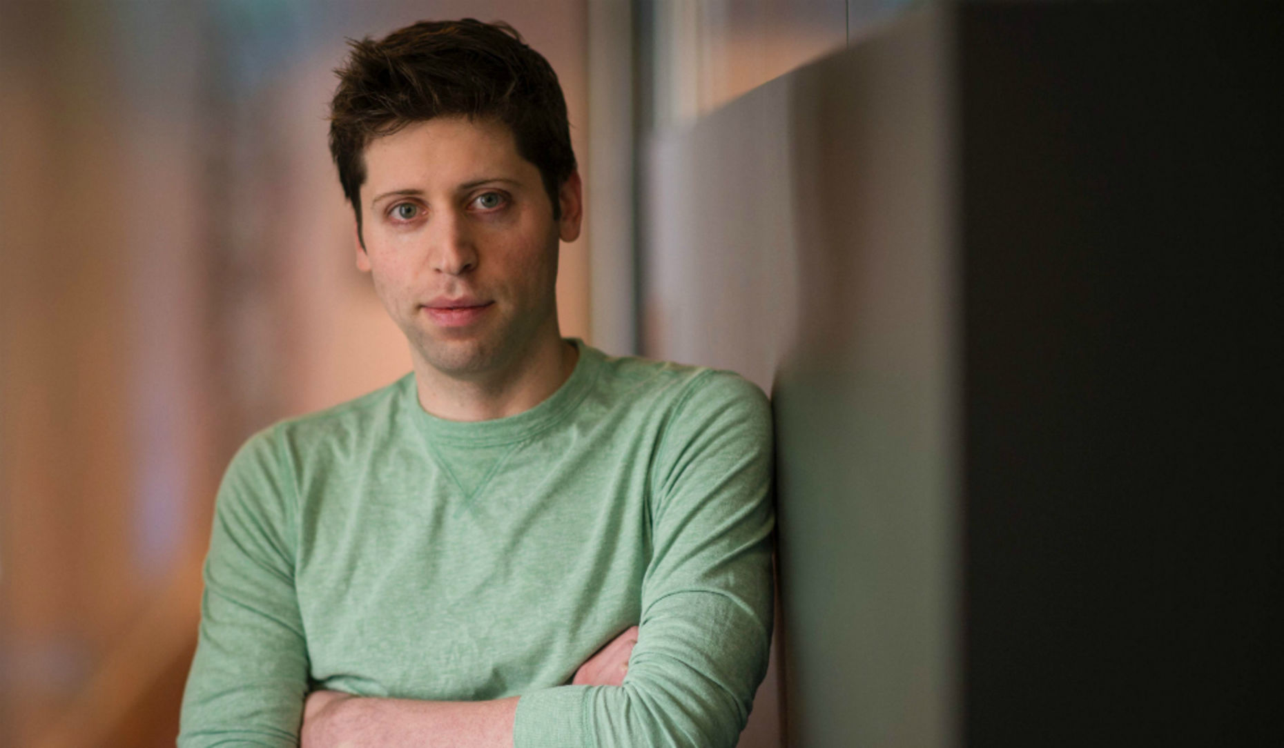 Y Combinator President Sam Altman. Photo by Bloomberg.