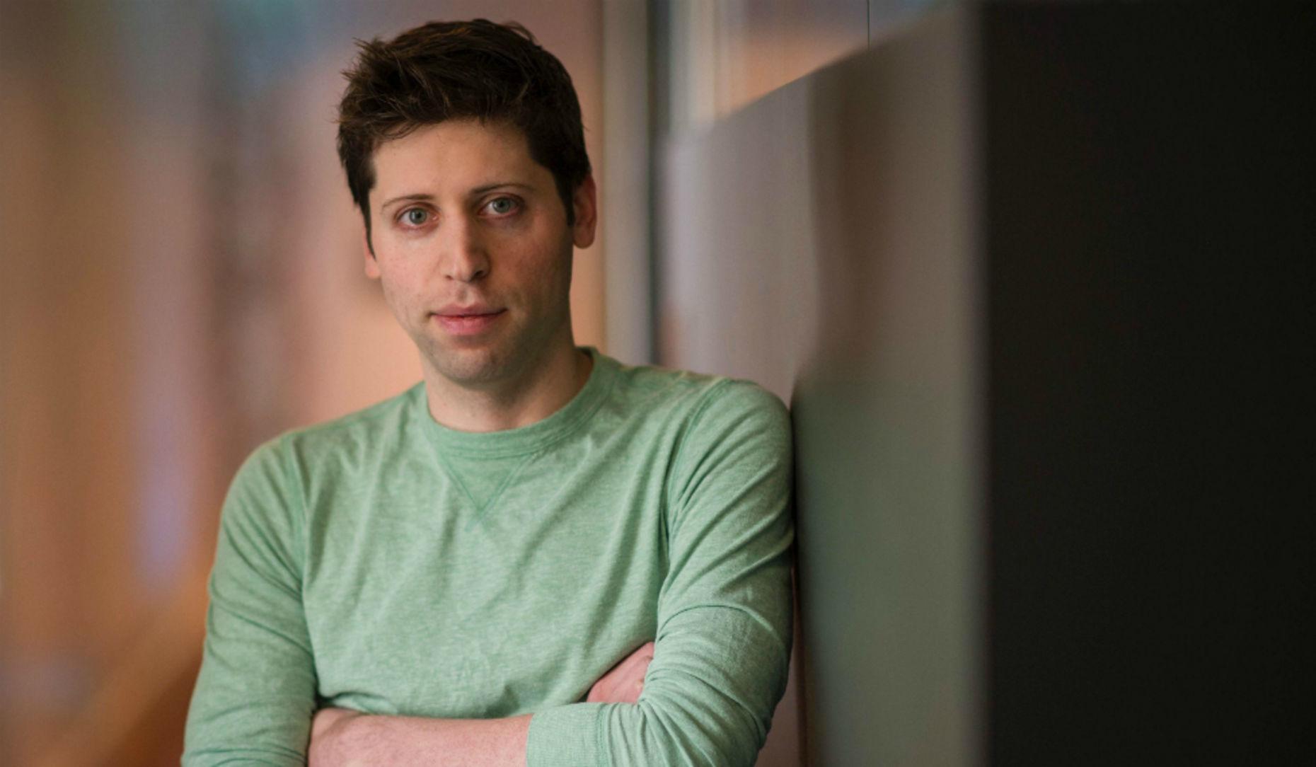 Y Combinator President Sam Altman. Photo by Bloomberg.