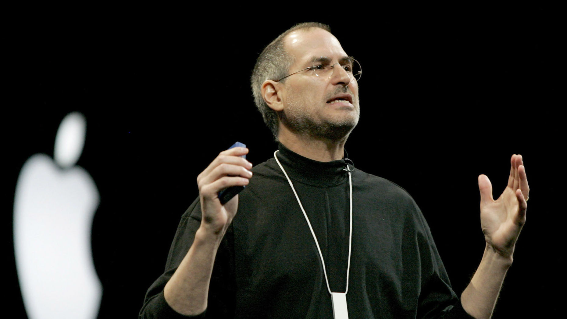 Apple co-founder Steve Jobs. Photo by Bloomberg.