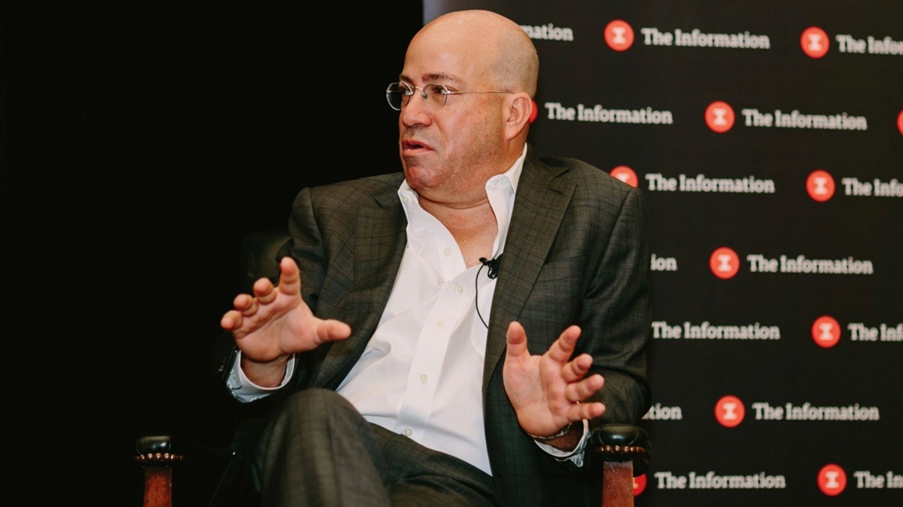 CNN CEO Jeff Zucker. Photo by Karen Obrist