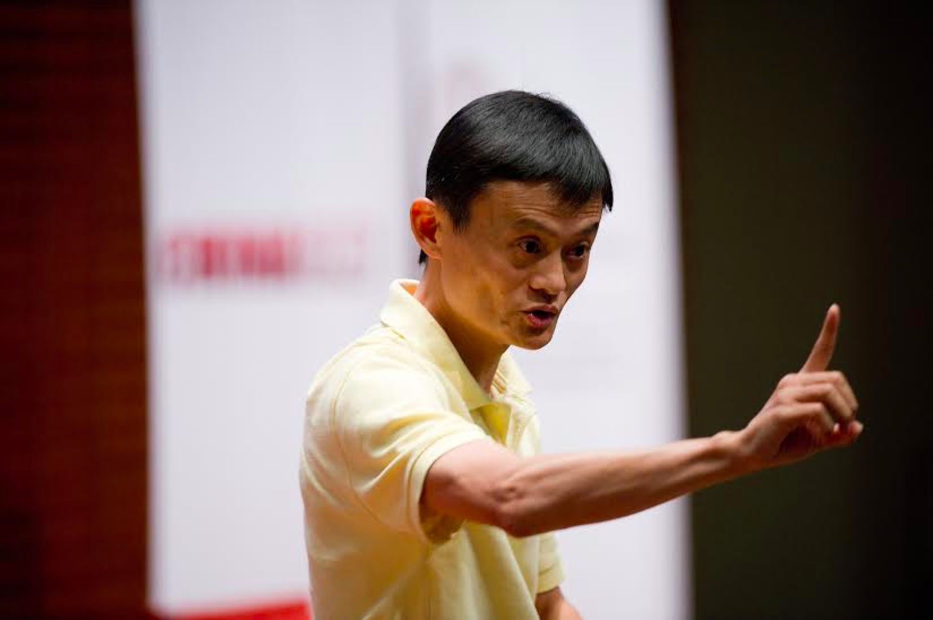 Jack Ma, founder of Alibaba. Photo by Bloomberg.