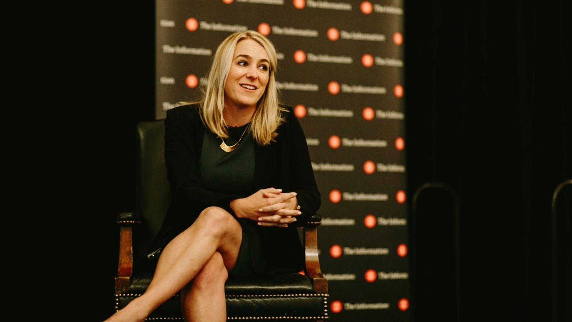 Slack VP of Product April Underwood, who oversees Slack's investment fund. Photo by Karen Obrist.