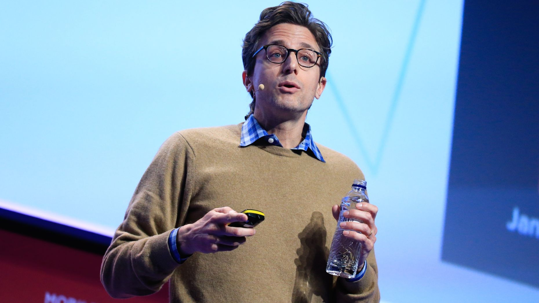 BuzzFeed CEO Jonah Peretti. Photo by Bloomberg.