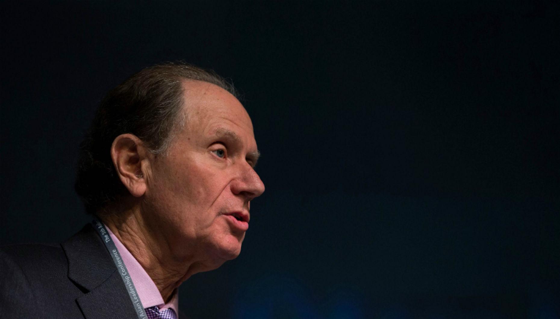 David Bonderman, founding partner of TPG. Photo by Bloomberg.