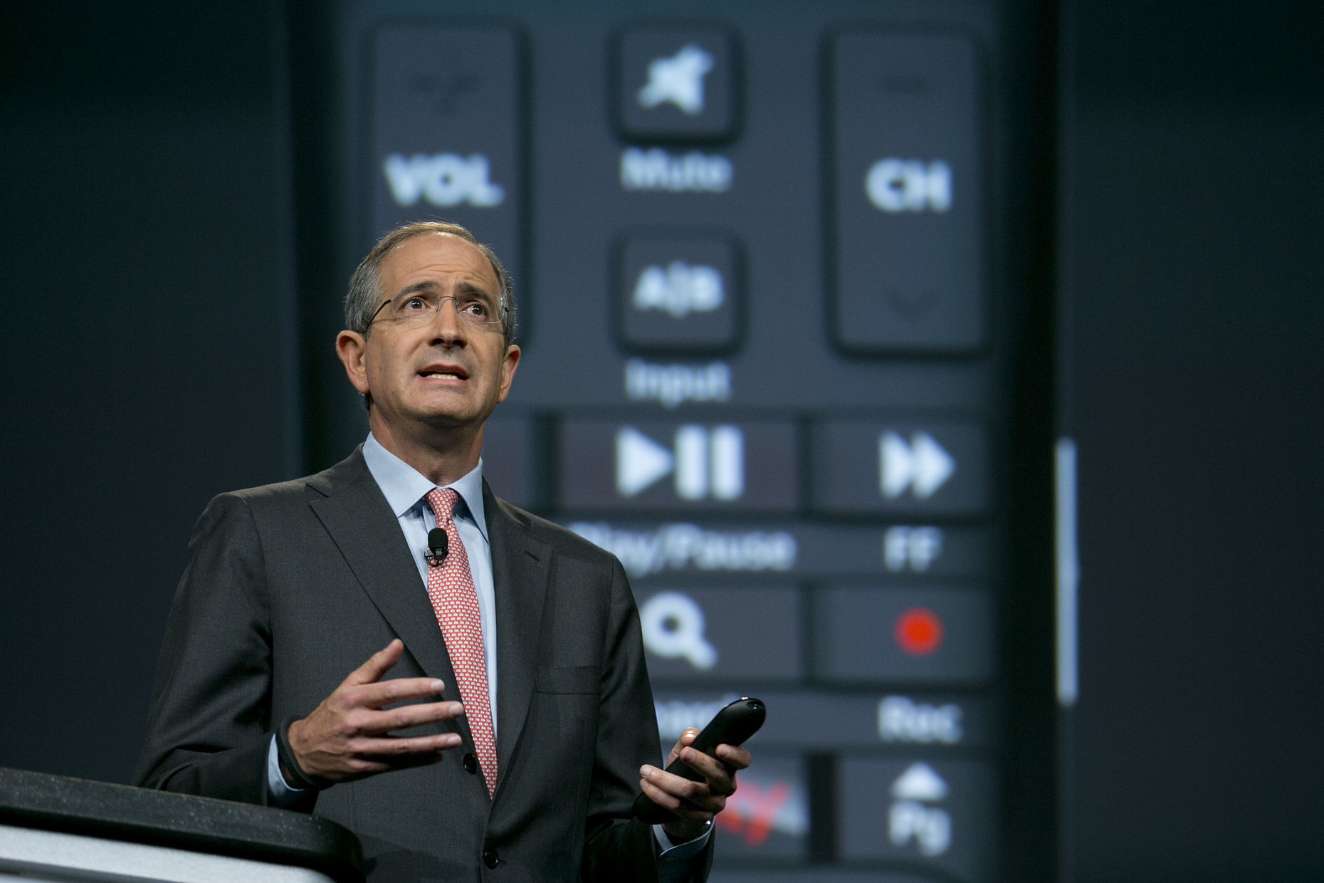 Comcast CEO Brian Roberts. Photo by Bloomberg.