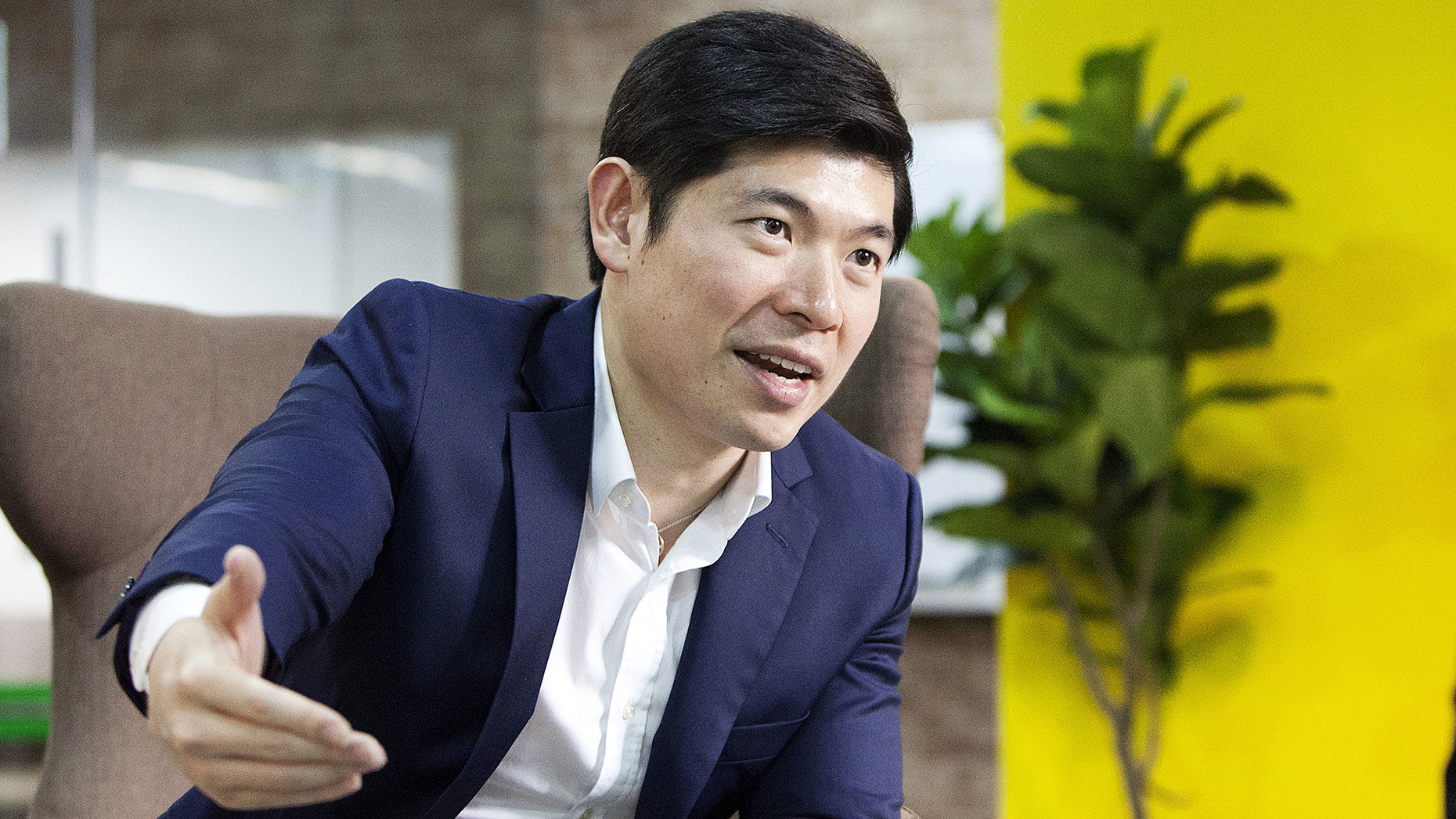 Grab CEO Anthony Tan | Bloomberg