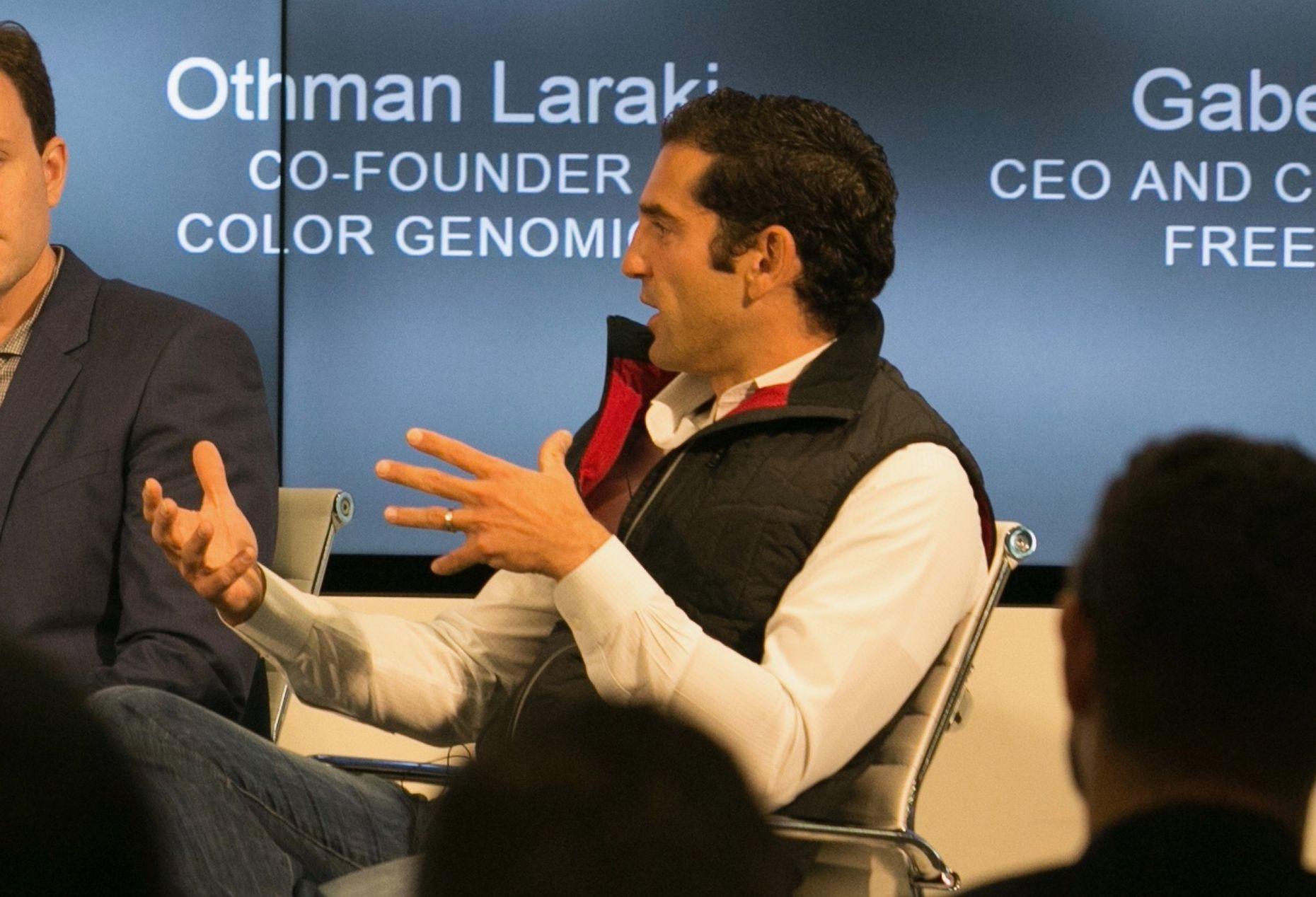 Color Genomics CEO Othman Laraki at The Information's San Francisco Subscriber Summit last October. Photo by Julie Mikos.