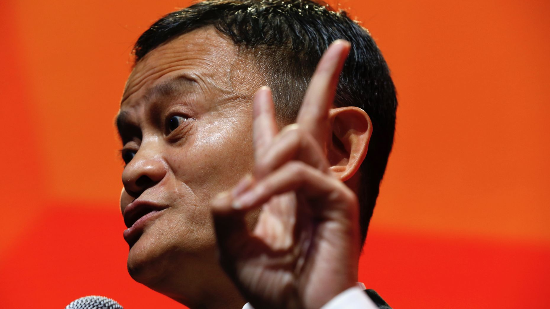 Alibaba Executive Chairman Jack Ma. Photo by Bloomberg.