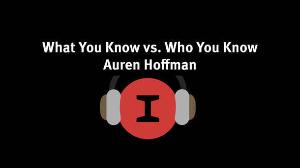 Modest Conversations: What You Know vs. Who You Know