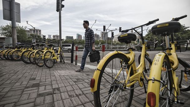 SoftBank May Invest in Chinese Bike Rental Firm Ofo