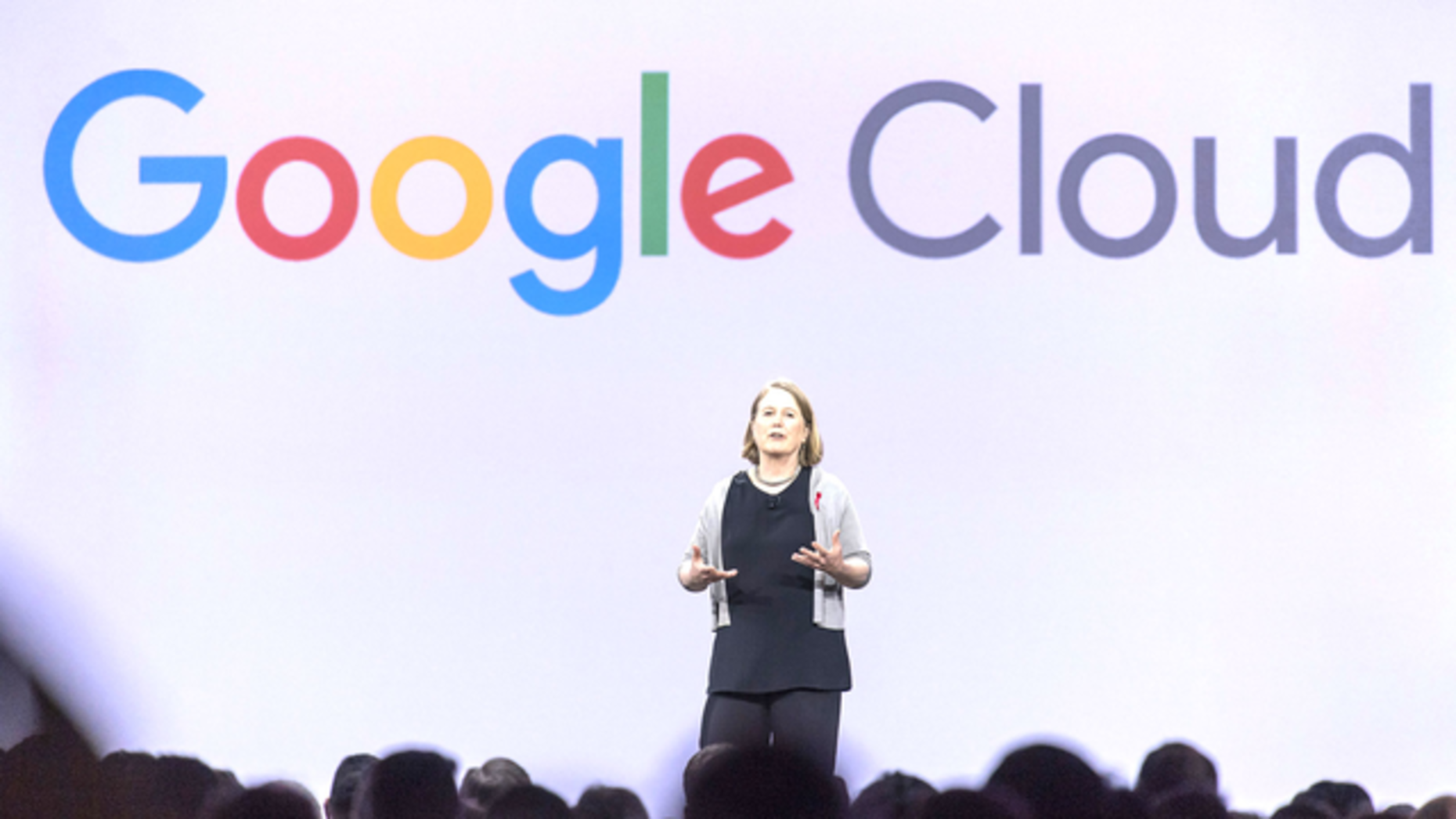 Google's cloud chief Diane Greene. Photo by Bloomberg.