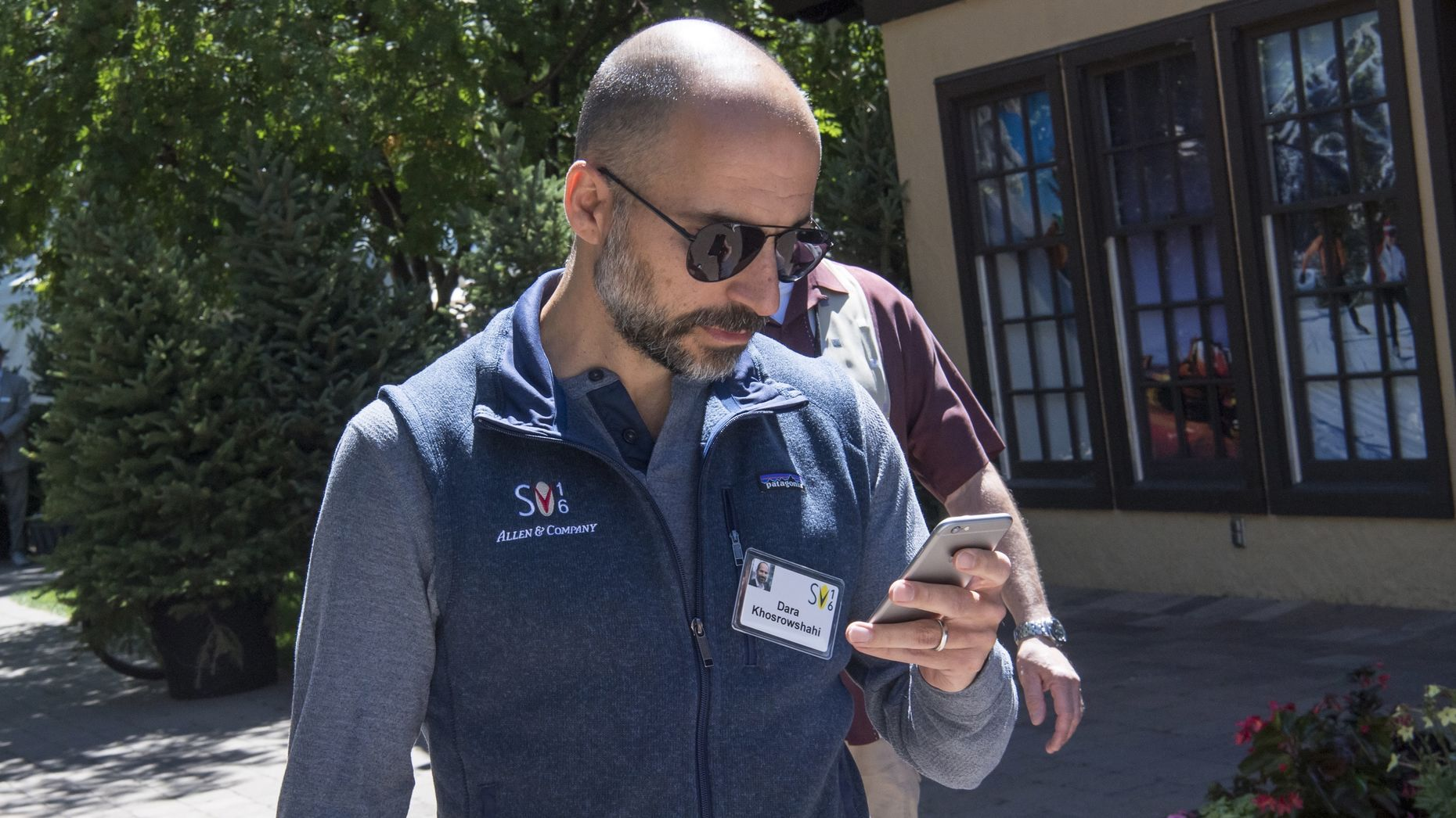Uber's new CEO Dara Khosrowshahi. Photo by Bloomberg.