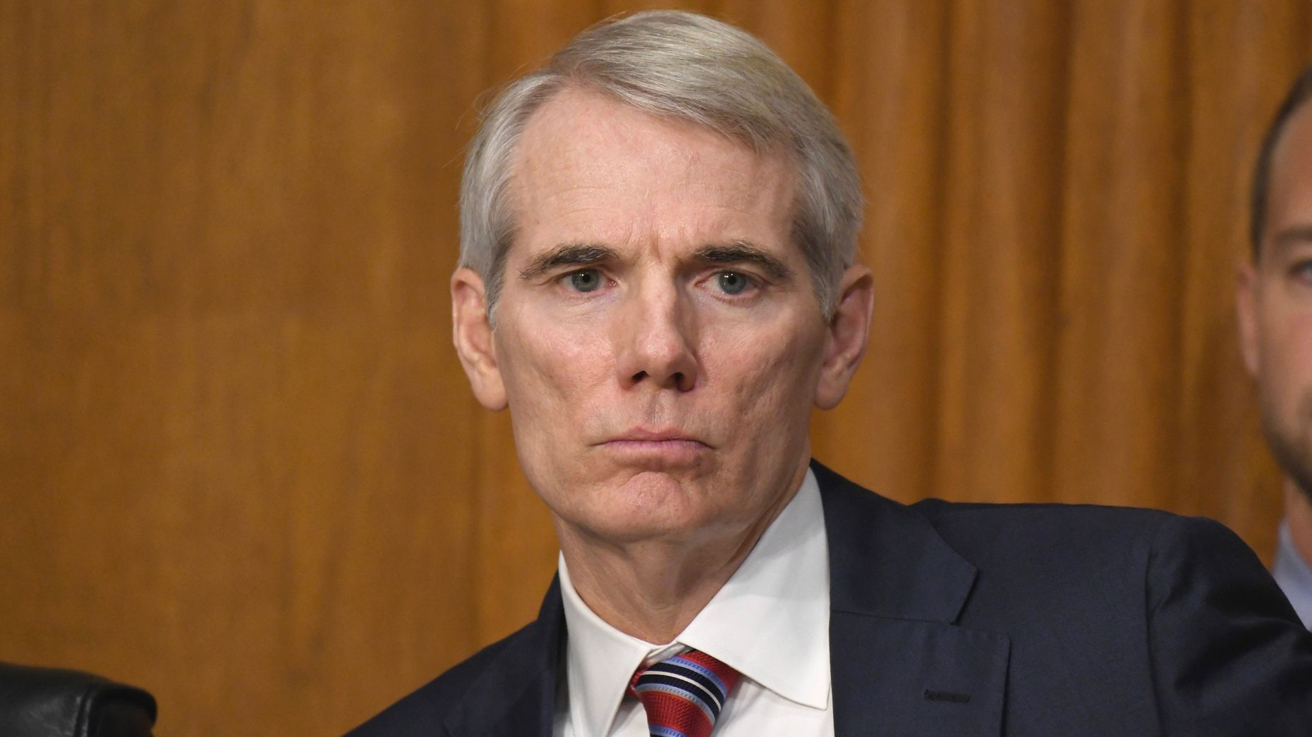Ohio Senator Rob Portman. Photo by AP.