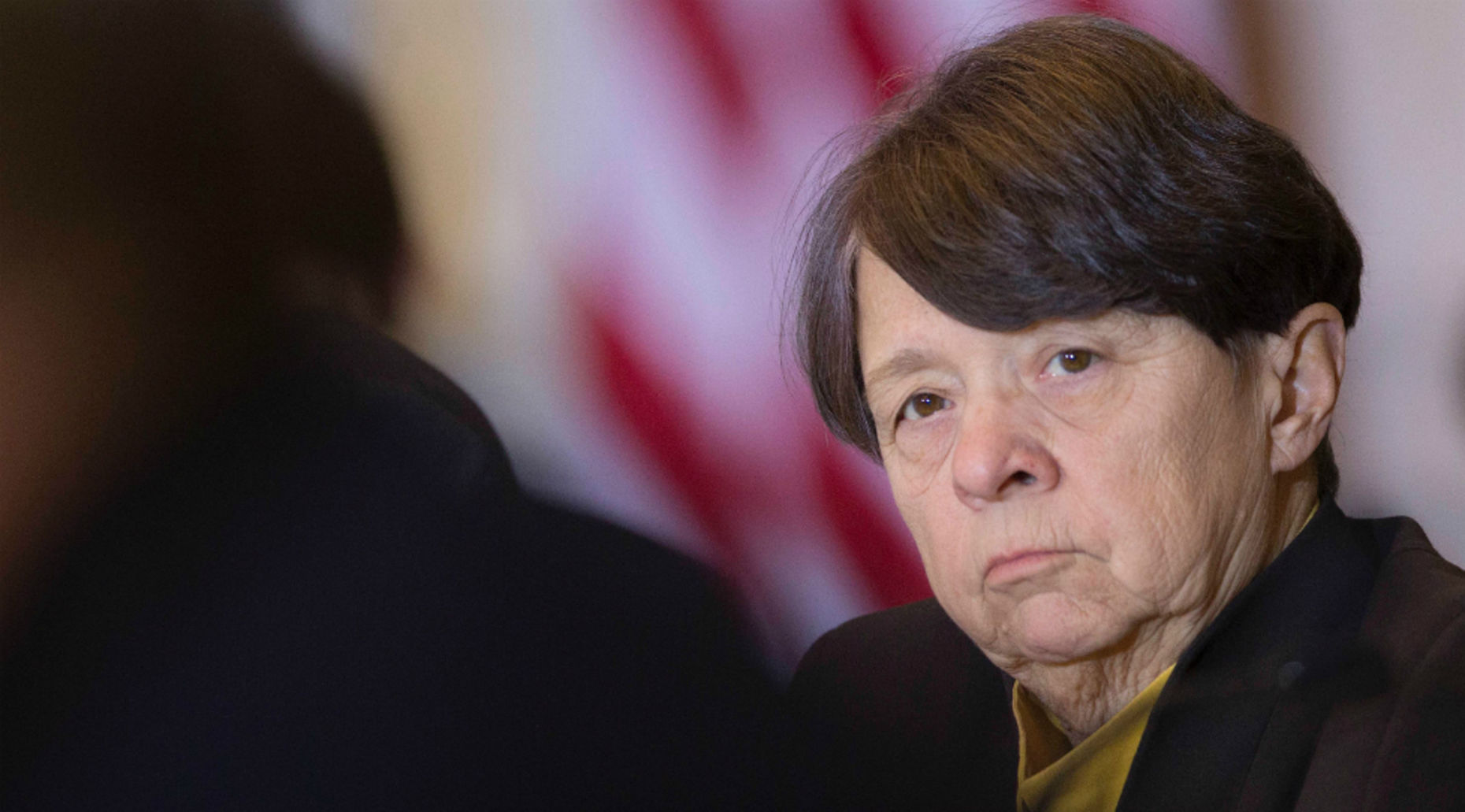 SEC Chairwoman Mary Jo White. Photo by Bloomberg.