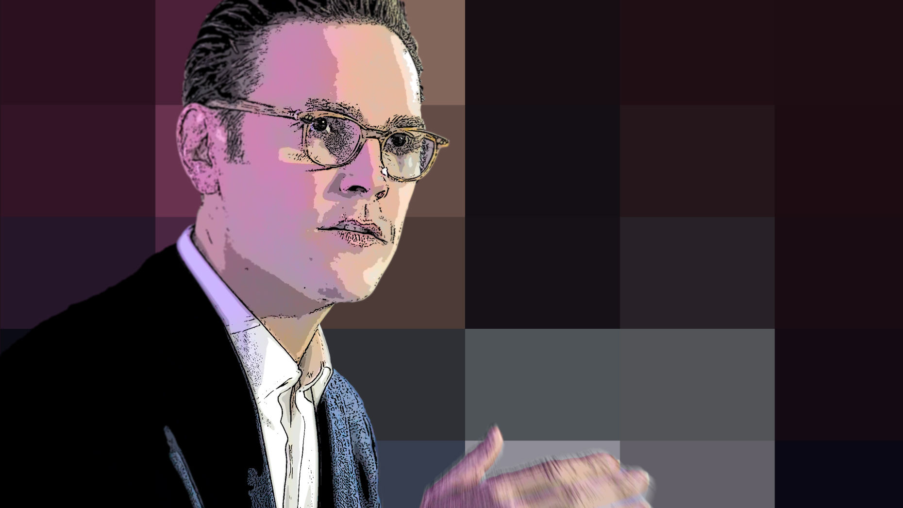 James Murdoch. Art by Matt Vascellaro.