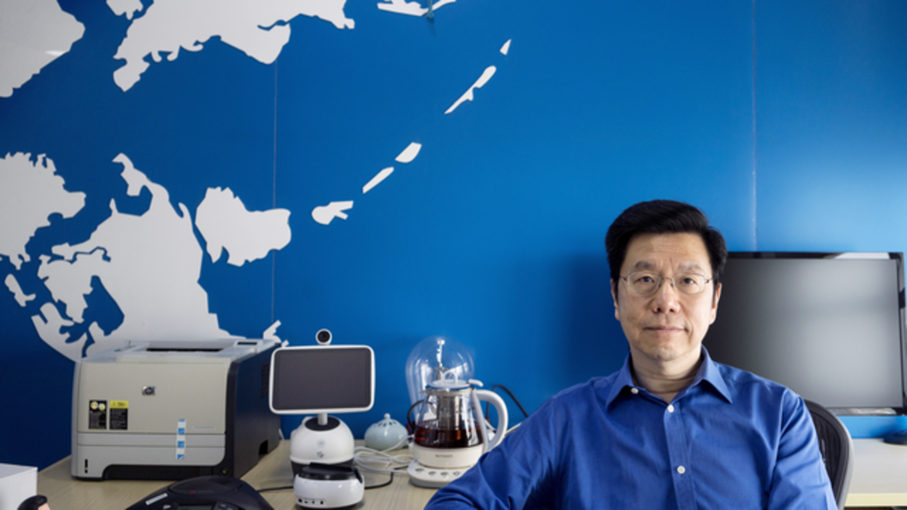 Sinovation founder Kai-Fu Lee. Photo by Bloomberg.