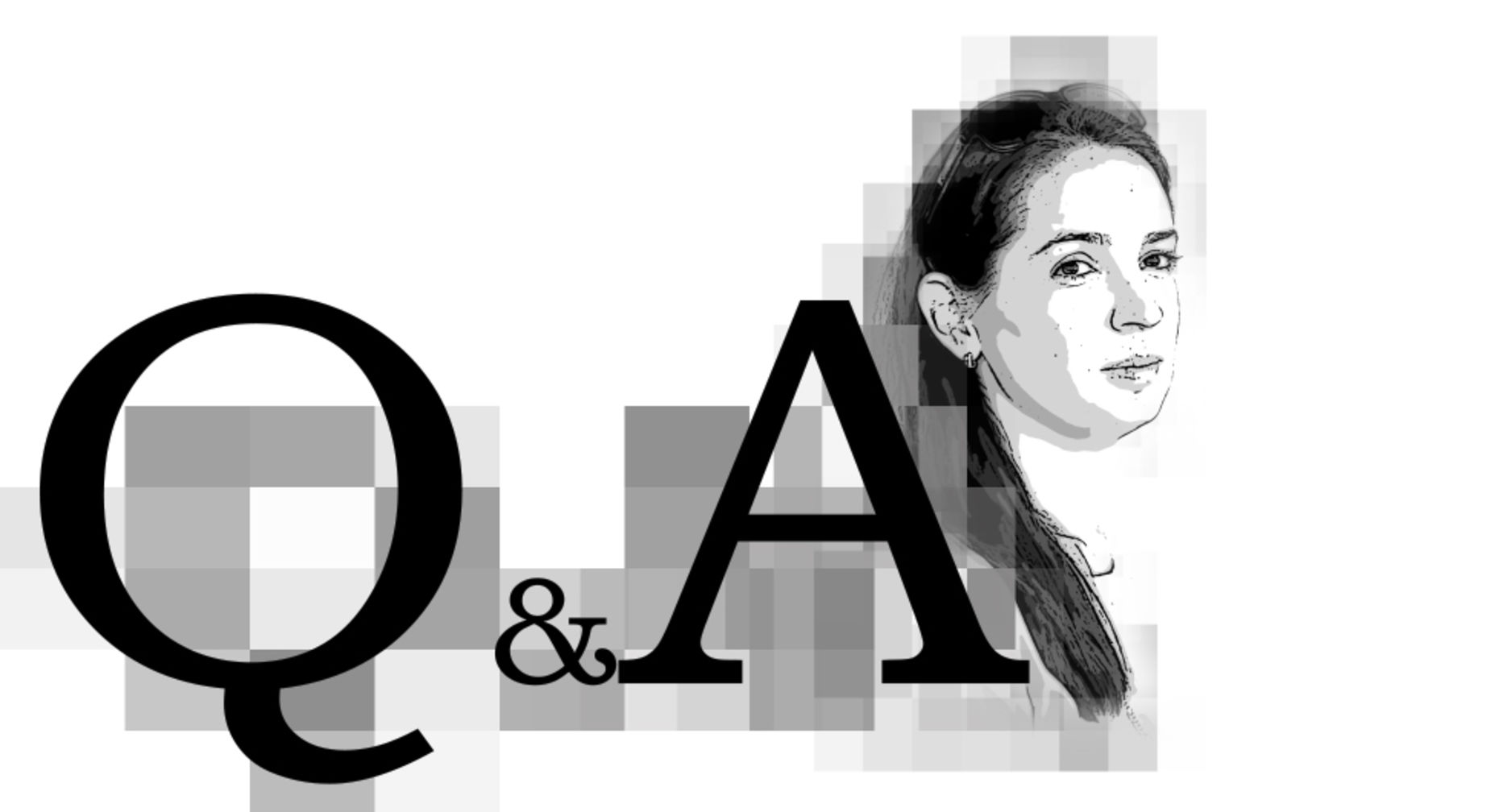 Ozon Holdings CEO Maelle Gavet. Illustration by Matthew Vascellaro.