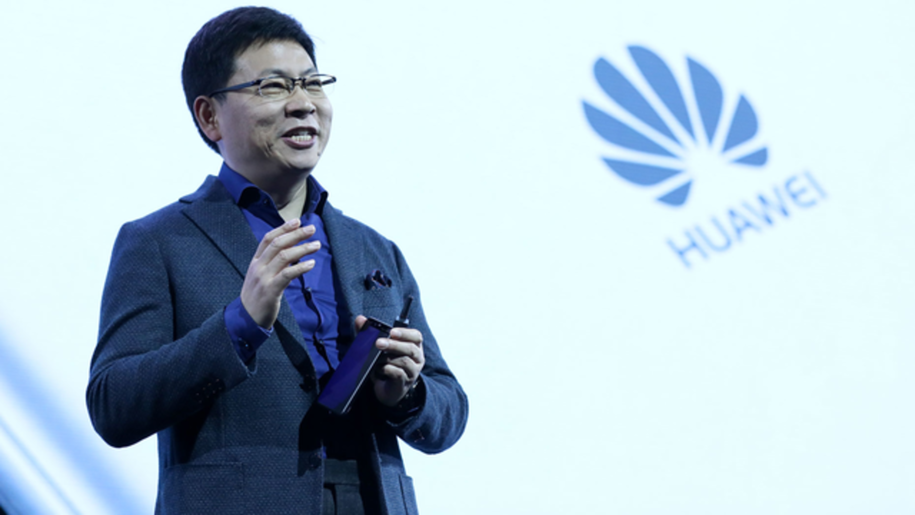 Huawei executive Richard Yu. Photo: Bloomberg