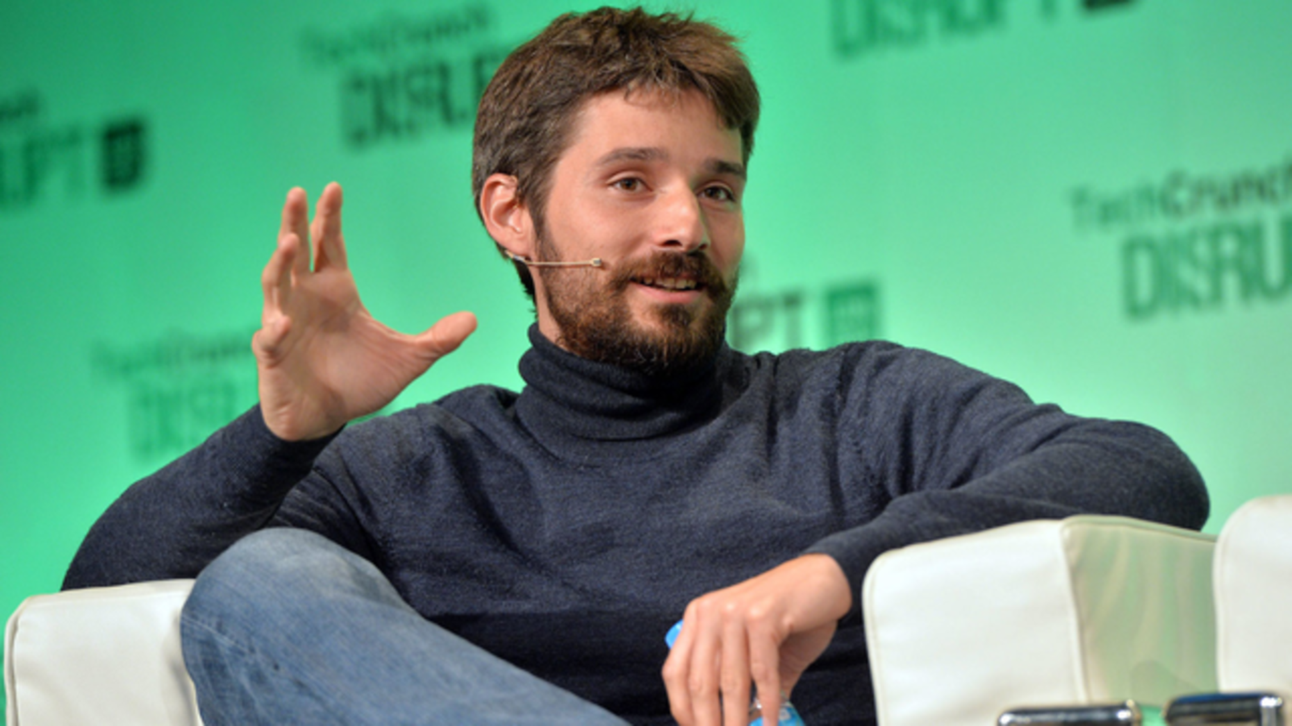 Docker founder Solomon Hykes. Photo by Flickr/Techcrunch