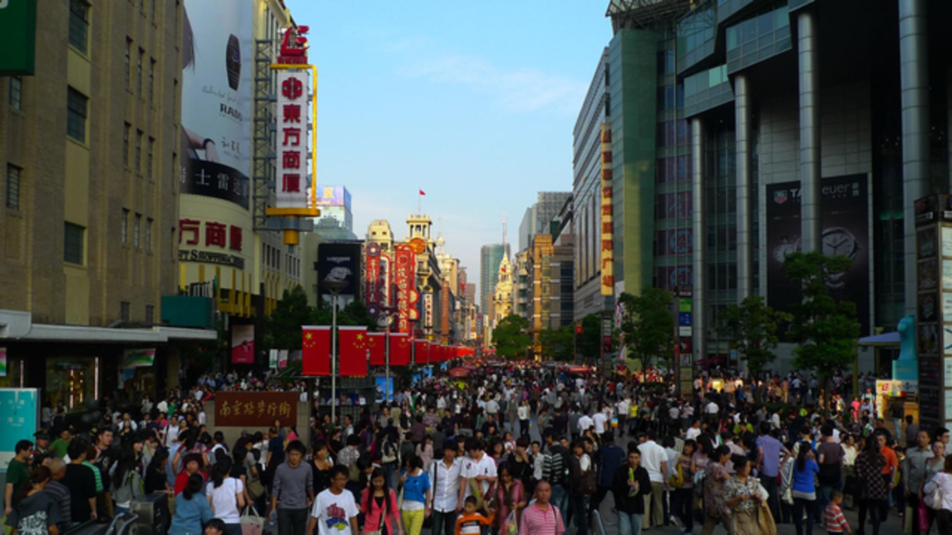Pedestrians in Shanghai. Flickr/Drew Bates
