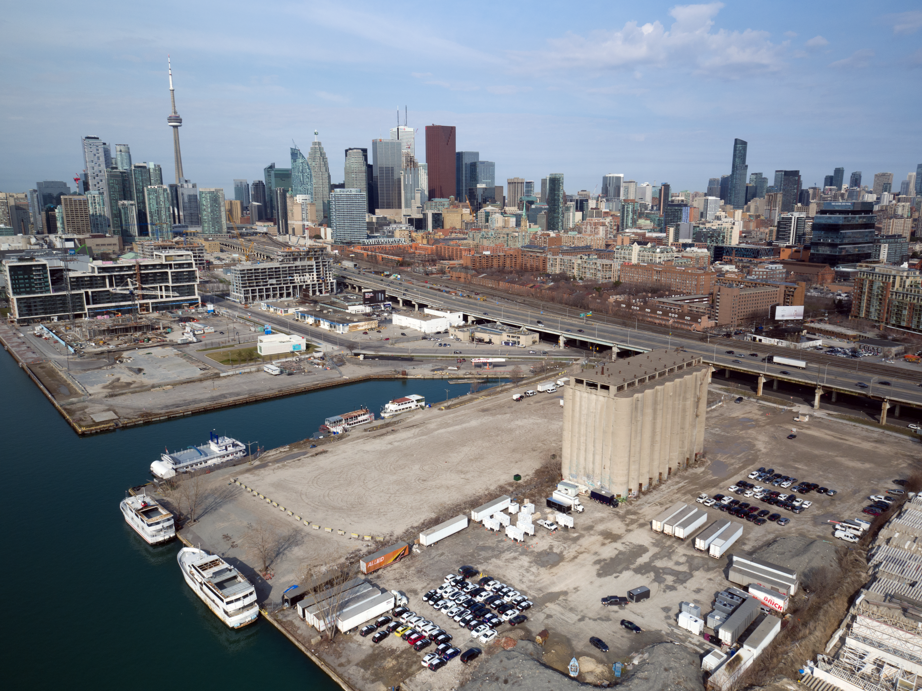 The site of the planned Sidewalk Labs development in Toronto. Photo: Sidewalk Labs