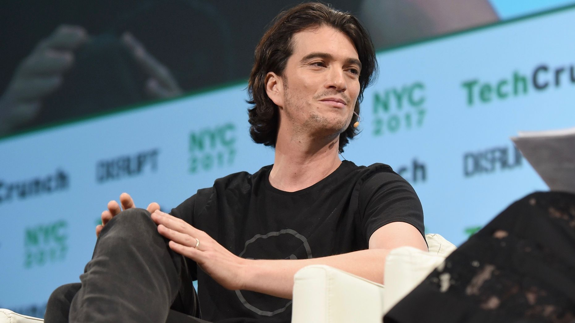WeWork CEO Adam Neumann. Photo by Flickr/TechCrunch.
