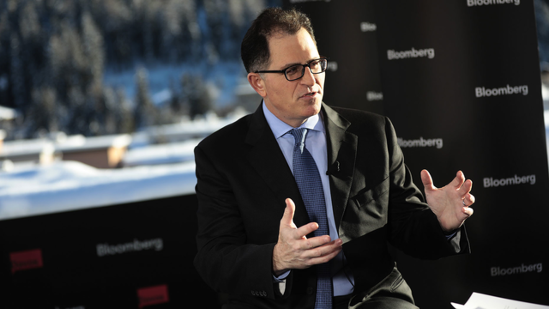 Dell Technologies CEO Michael Dell. Photo by Bloomberg.