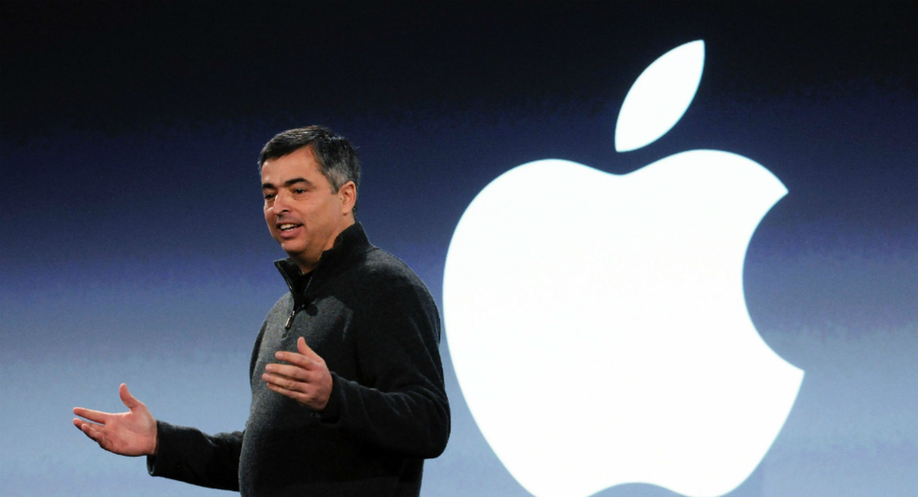 Apple senior vice president and music honcho Eddy Cue. Photo by Bloomberg.