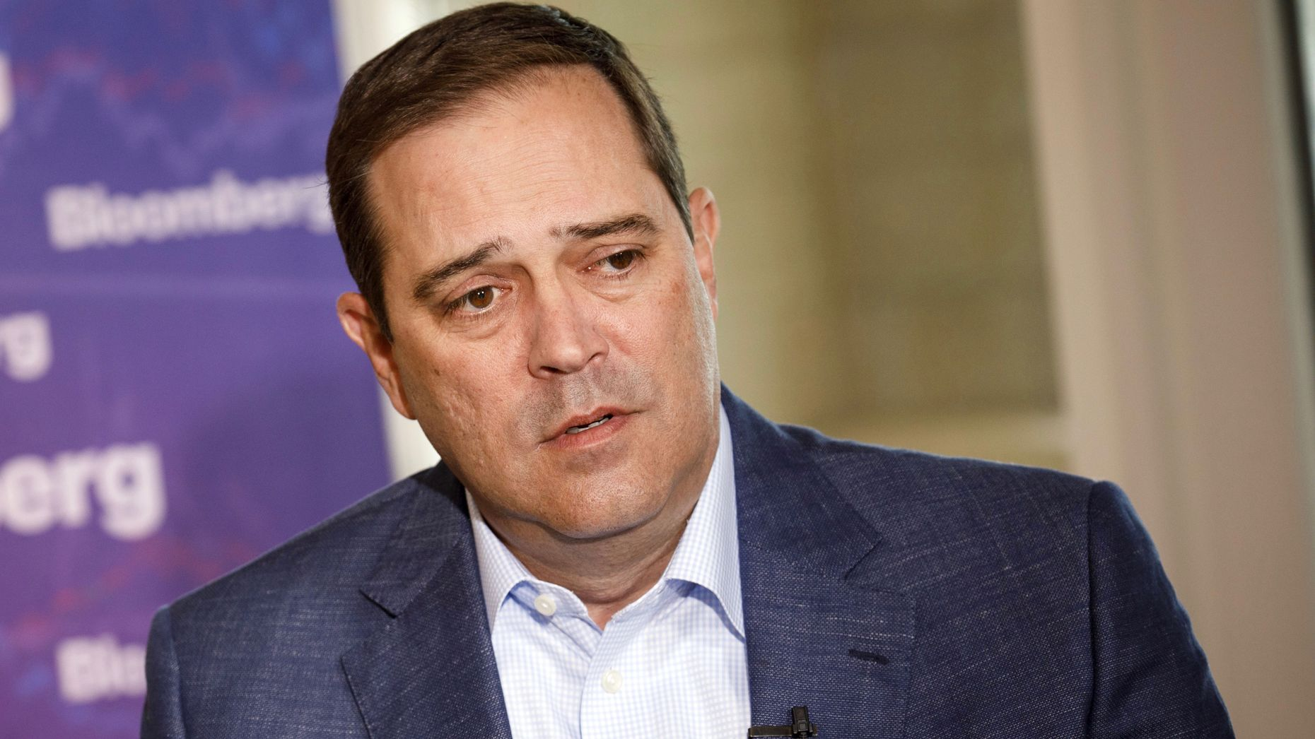 Cisco CEO Chuck Robbins. Photo by Bloomberg
