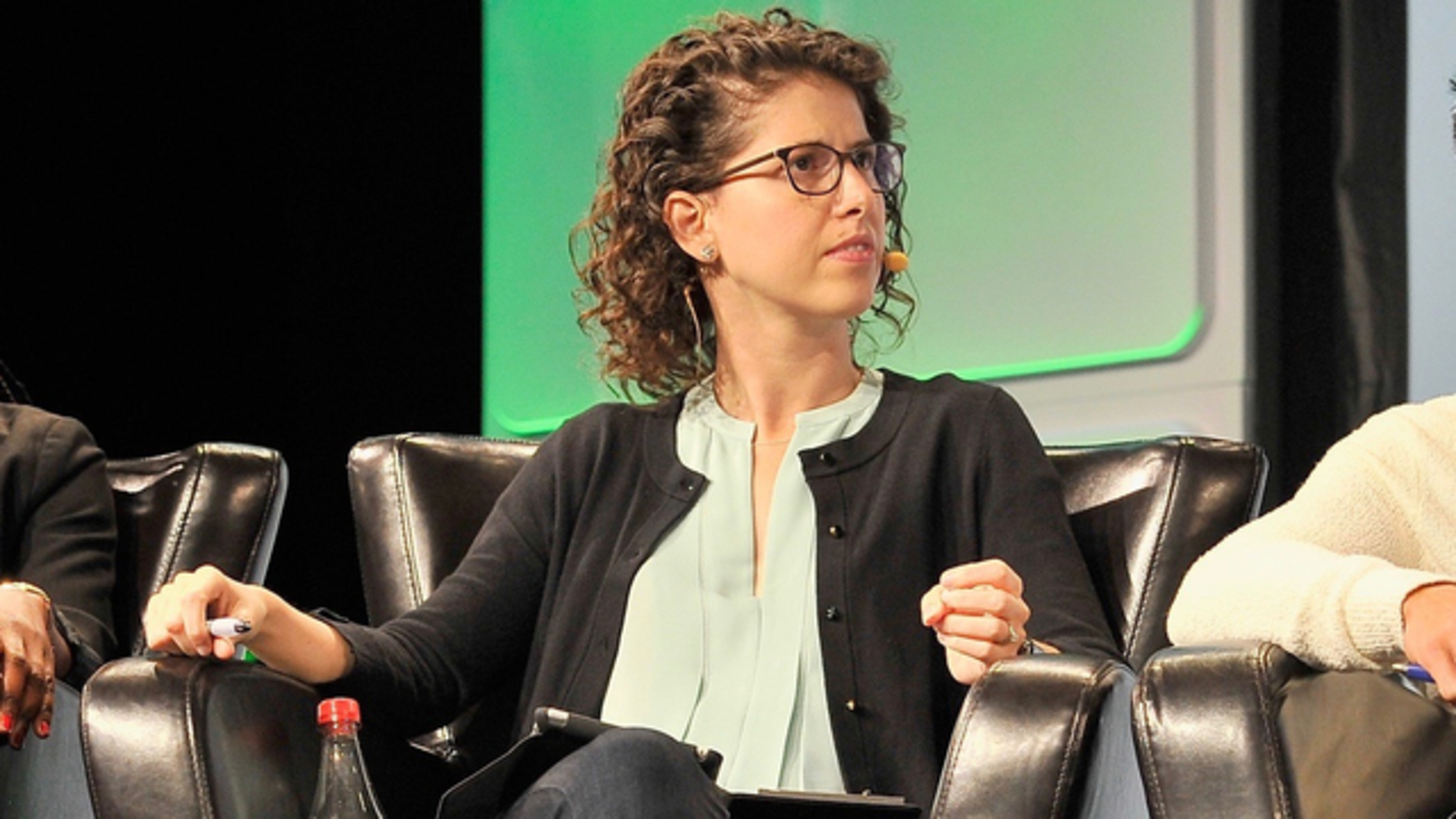 Benchmark partner Sarah Tavel. Photo by Flickr/TechCrunch
