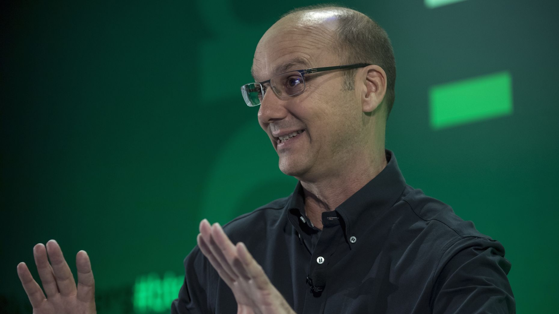 Andy Rubin. Photo by Bloomberg