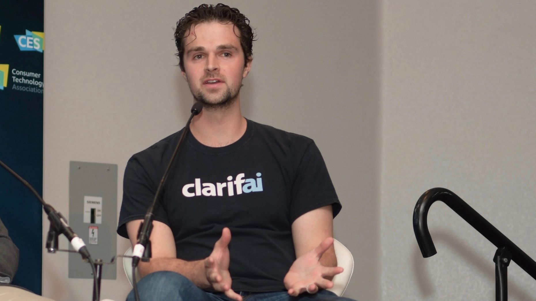 Clarifai founder Matt Zeiler. Photo by Flickr/ETC-USC.