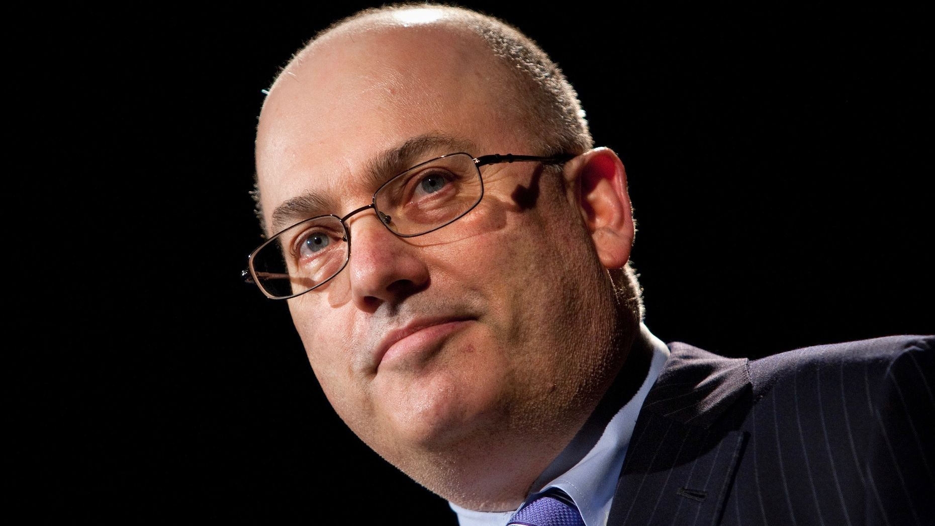 Hedge fund billionaire Steve Cohen. Photo by Bloomberg.