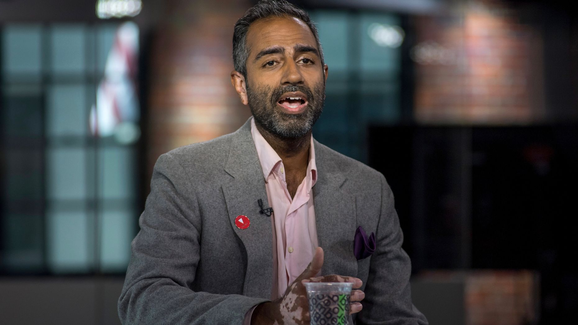 Knotel CEO Amol Sarva. Photo by Bloomberg.