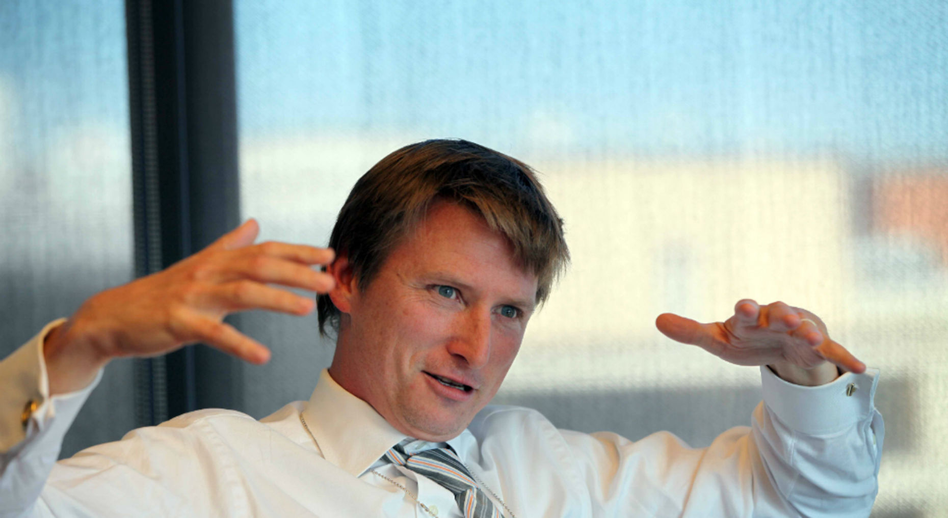 Athenahealth CEO Jonathan Bush. Photo by Bloomberg.