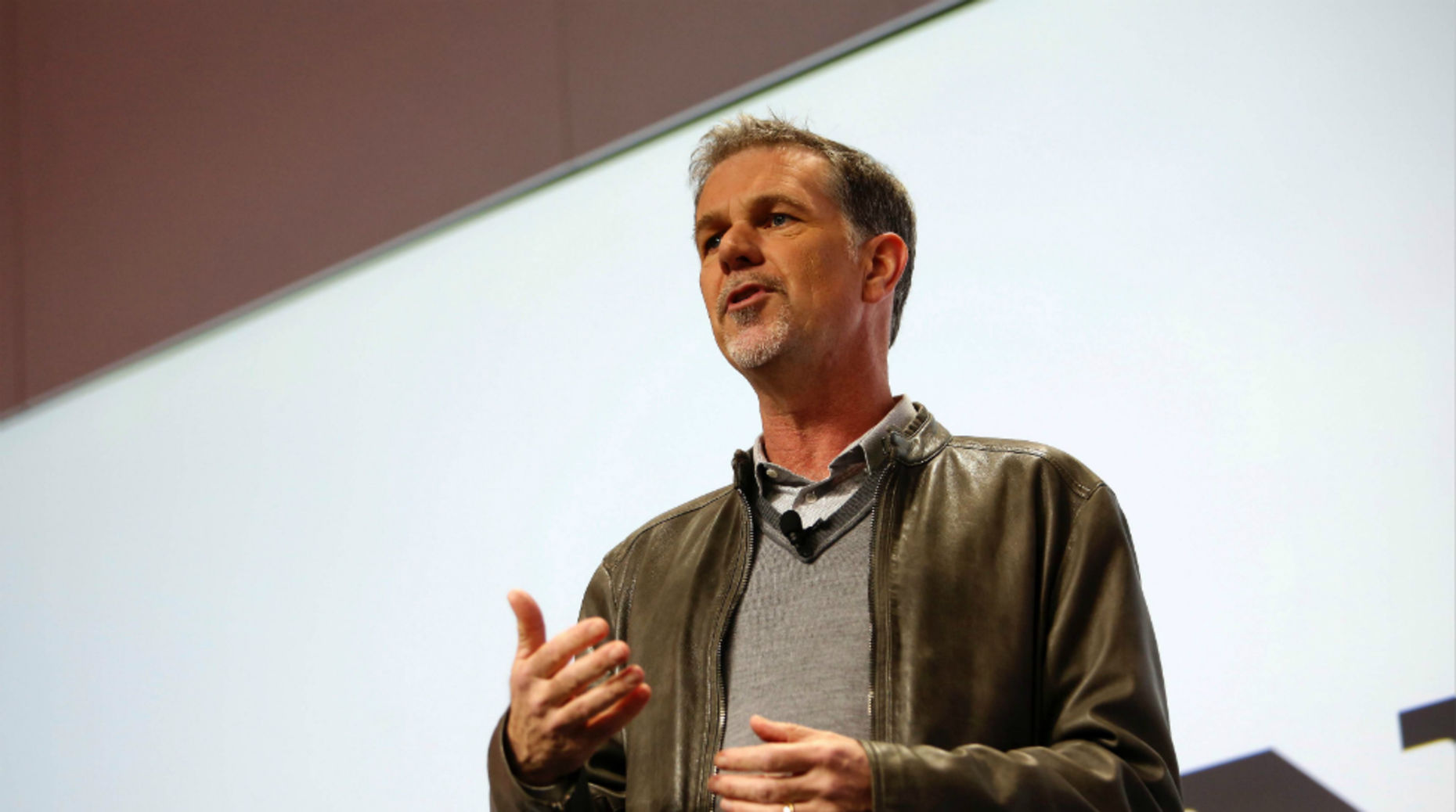 Netflix CEO Reed Hastings. Photo by Bloomberg.