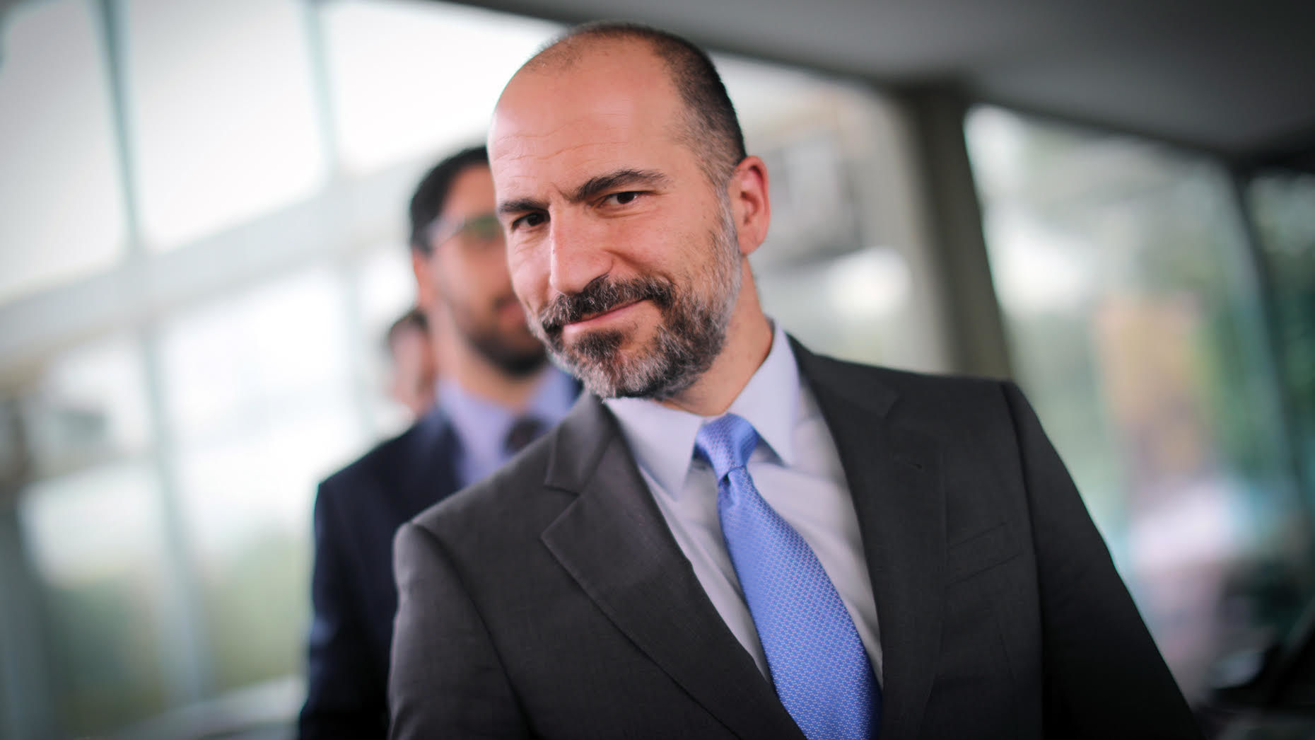 Uber CEO Dara Khosrowshahi. Photo: Bloomberg