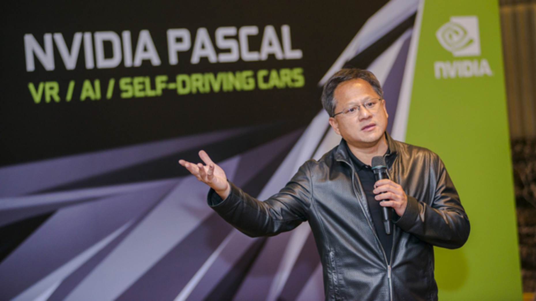 Nvidia CEO Jensen Huang. Photo: Flickr/NVIDIA Taiwan
