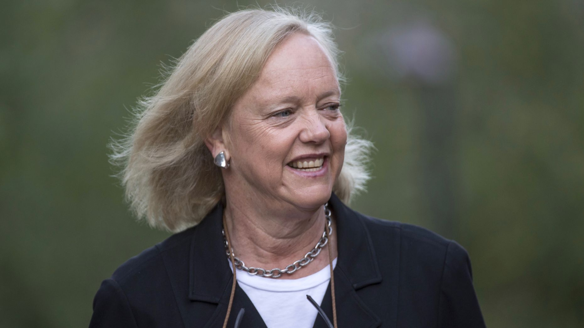 Meg Whitman. Photo by Bloomberg.
