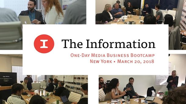 The Information's Media Business Bootcamp